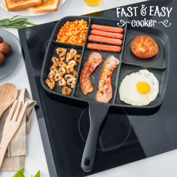 Non-Stick Pande | Fast & Easy Cooker 5 i 1