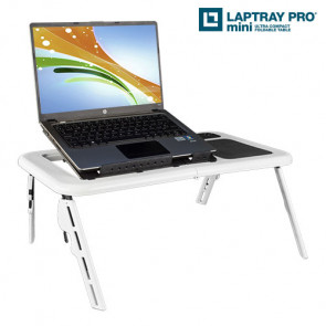 Laptray Pro Minibord med Ventilator til Laptop